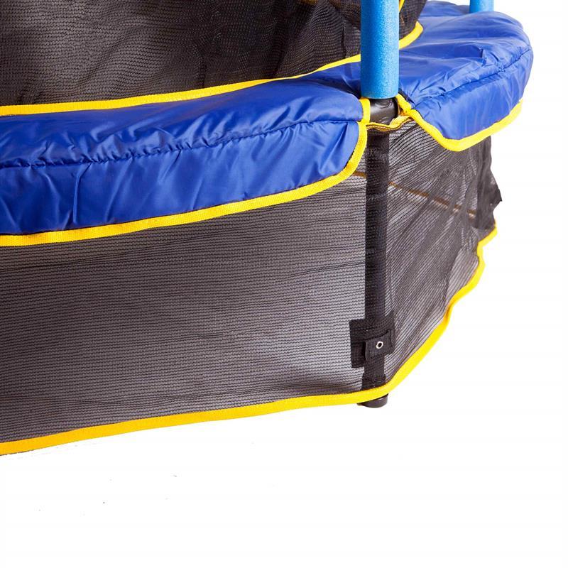 trampolin mit netz kindertrampolin 140 cm im scsports. Black Bedroom Furniture Sets. Home Design Ideas