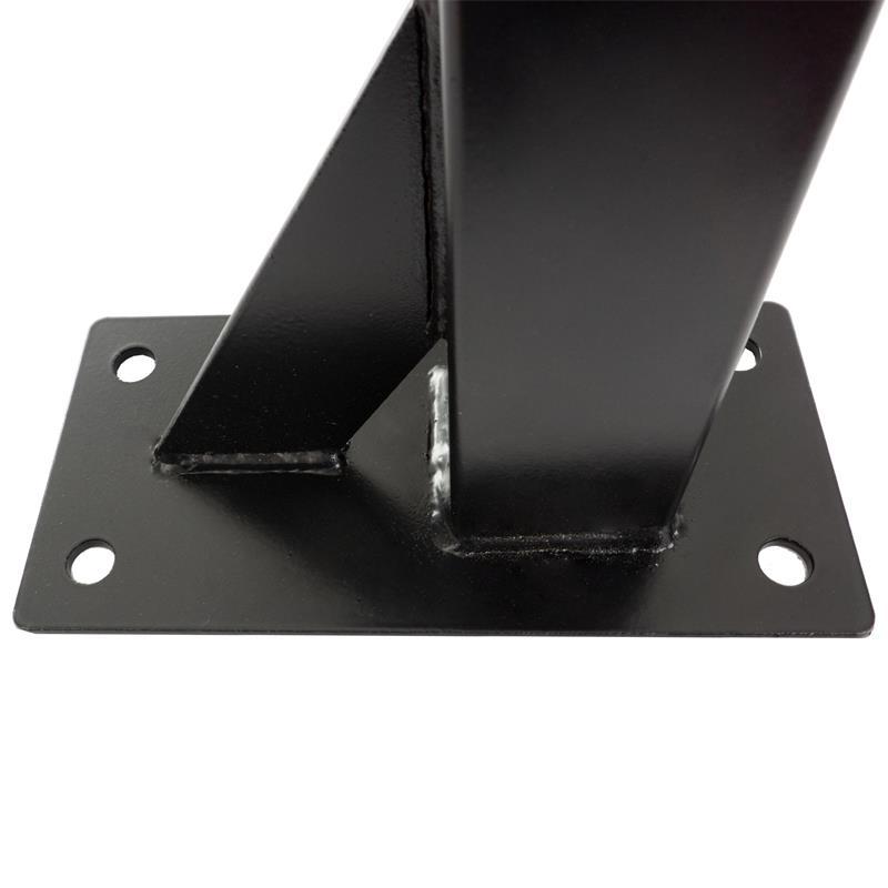 Klimmzugstange zur Deckenmontage 6 Griffe schwarz