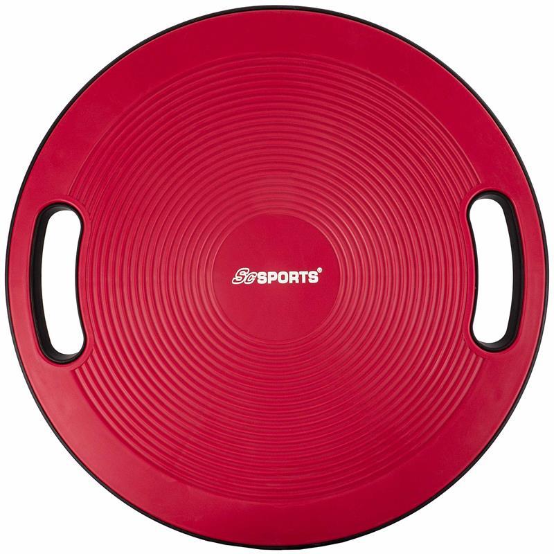 Balance Board mit Griffen 40 cm rot