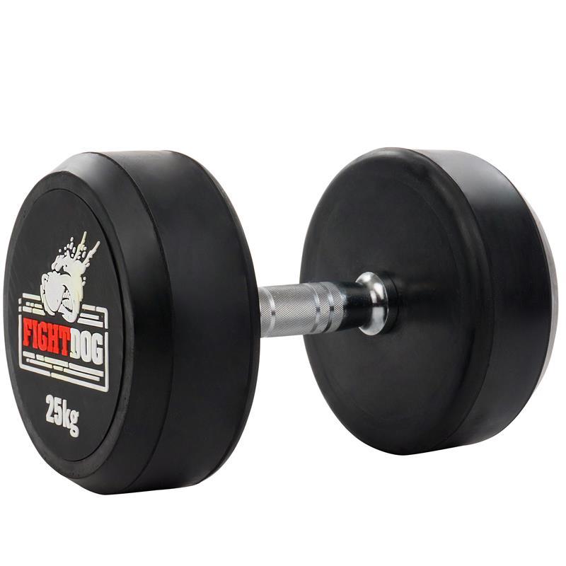 25 kg Kurzhantel mit festen Gewichten FIGHTDOG