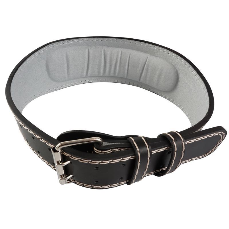 Gewichthebergürtel Schwarz/Grau Größe S