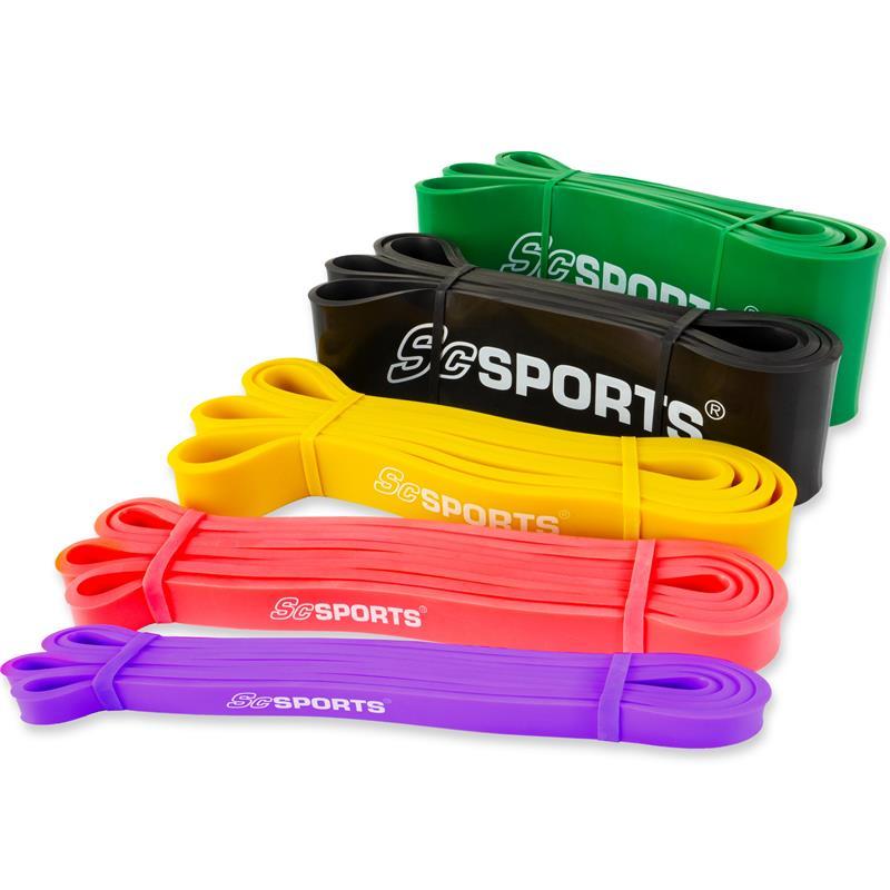 Fitnessband 208 cm in verschiedenen Stärken