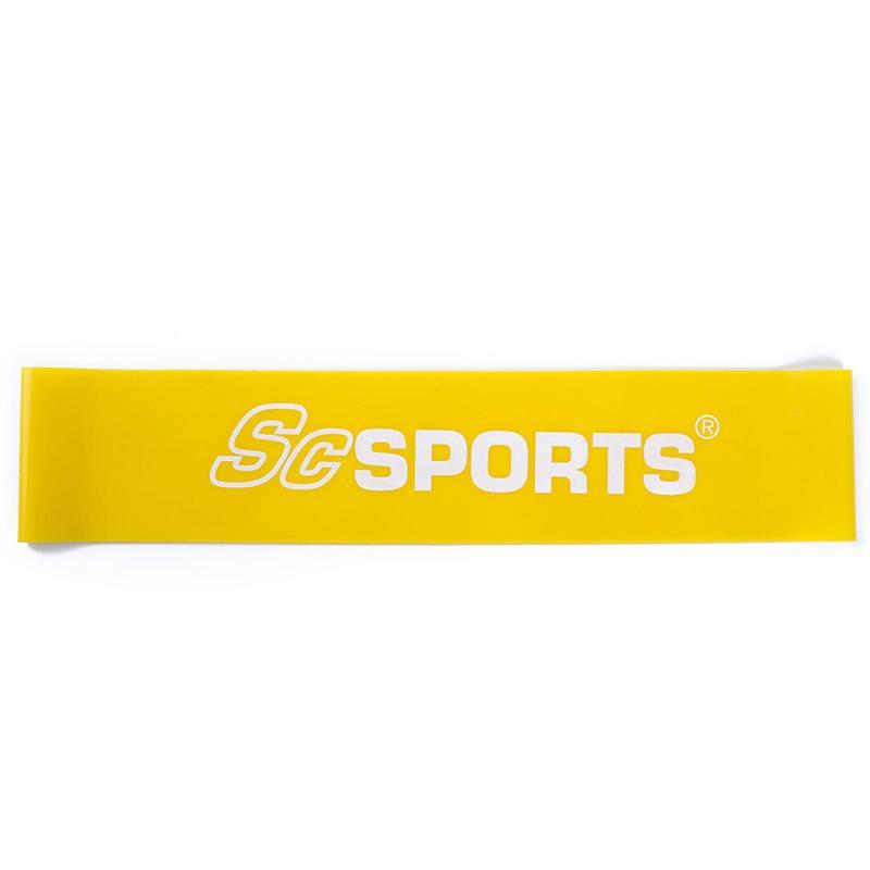 Elastisches Fitnessband 500 x 50 x 0,6 mm gelb