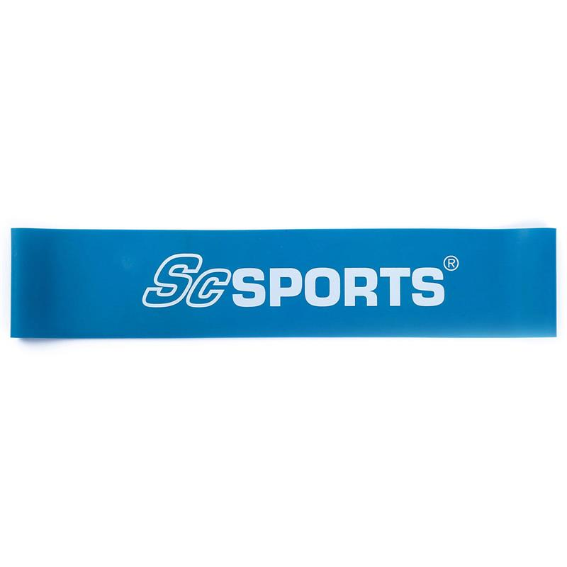 Elastisches Fitnessband 500 x 50 x 0,8 mm blau