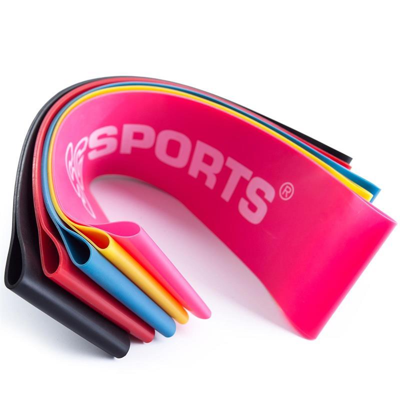 Elastisches Fitnessband 500 x 50 x 0,4 mm pink