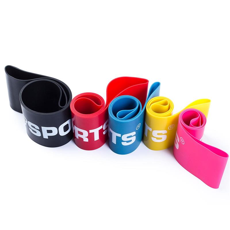 Elastisches Fitnessband 500 x 50 x 1,2 mm schwarz