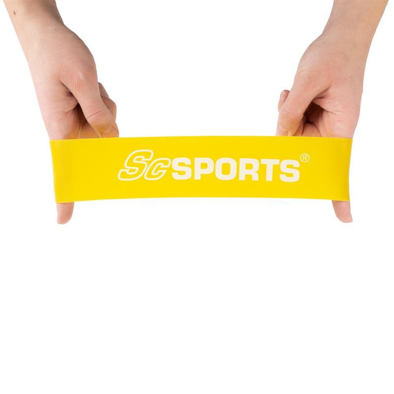 Fitnessbänder 500 x 50 mm als Komplettset in verschiedenen Farben und Stärken