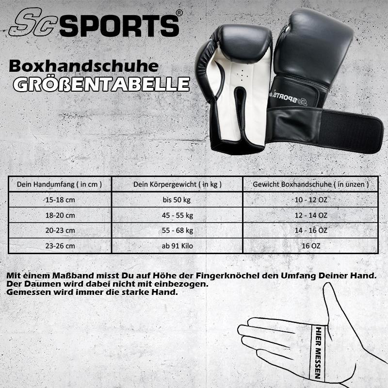 Boxset mit 60 x 30 cm großem Boxsack und Boxhandschuhen