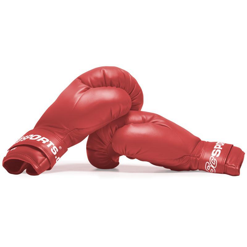 Boxhandschuhe Kunststoff rot 14 oz