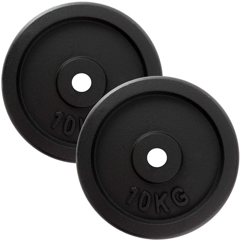 20 kg Hantelscheibenset Gusseisen 30 mm 2 x 10 kg 2. Wahl