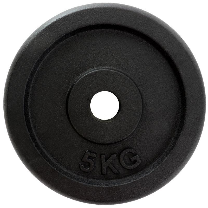 Scheibenset 4 x 5 kg Guss NN