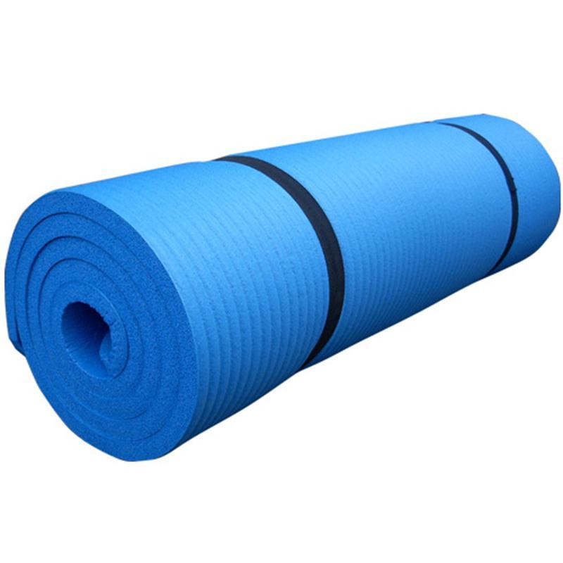 Gymnastikmatte Sportmatte 190 x 100 x 1,5 cm hellblau