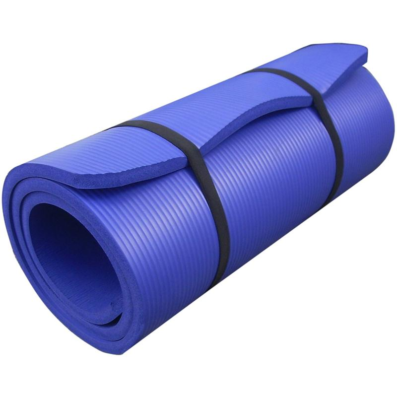 Gymnastikmatte Sportmatte 190 x 60 x 1,5 cm veilchenblau