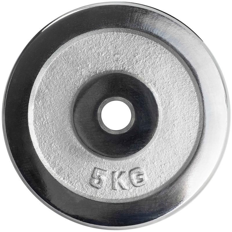 50 kg Hantelset Chrom 25 mm