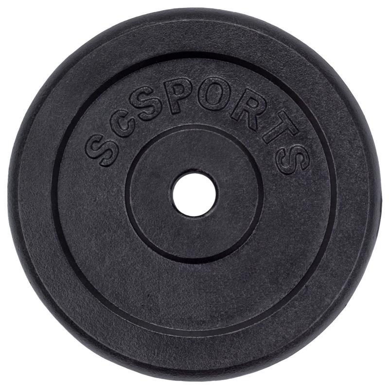 Hantelscheibe 30 mm Guss von 0,5 kg bis 30 kg