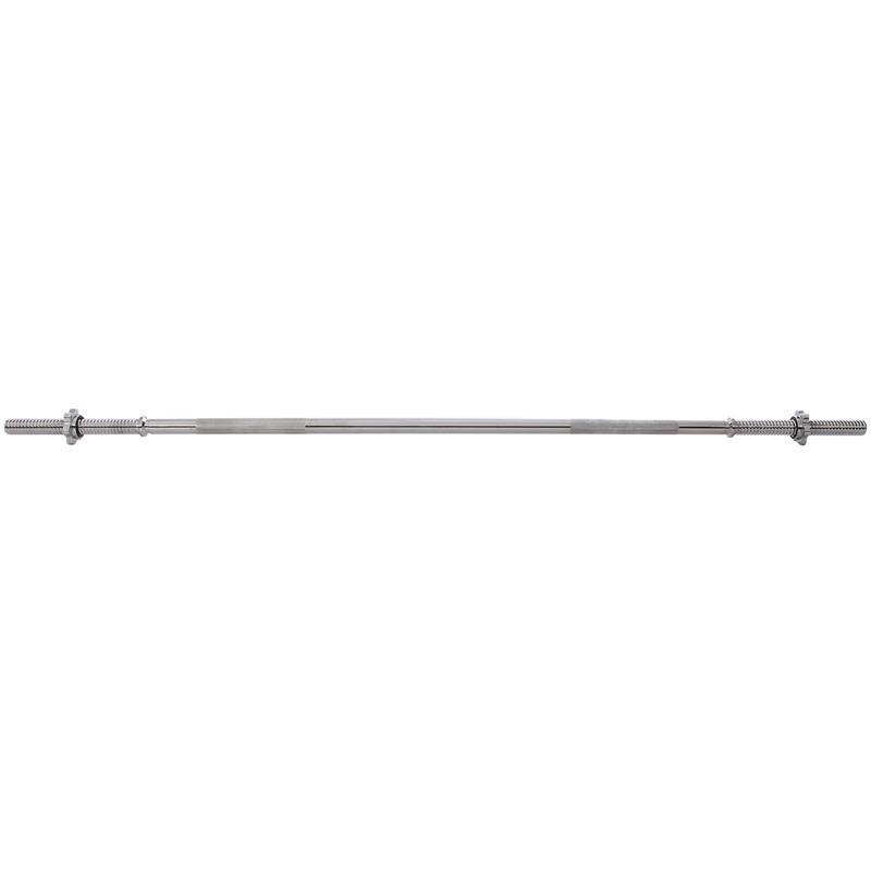 Langhantelstange 30 mm mit Gewinde 160 cm Länge