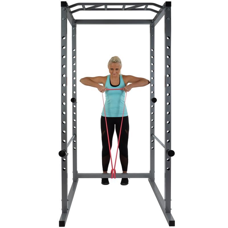 Power Rack Cage mit Klimmzugstange B-Ware
