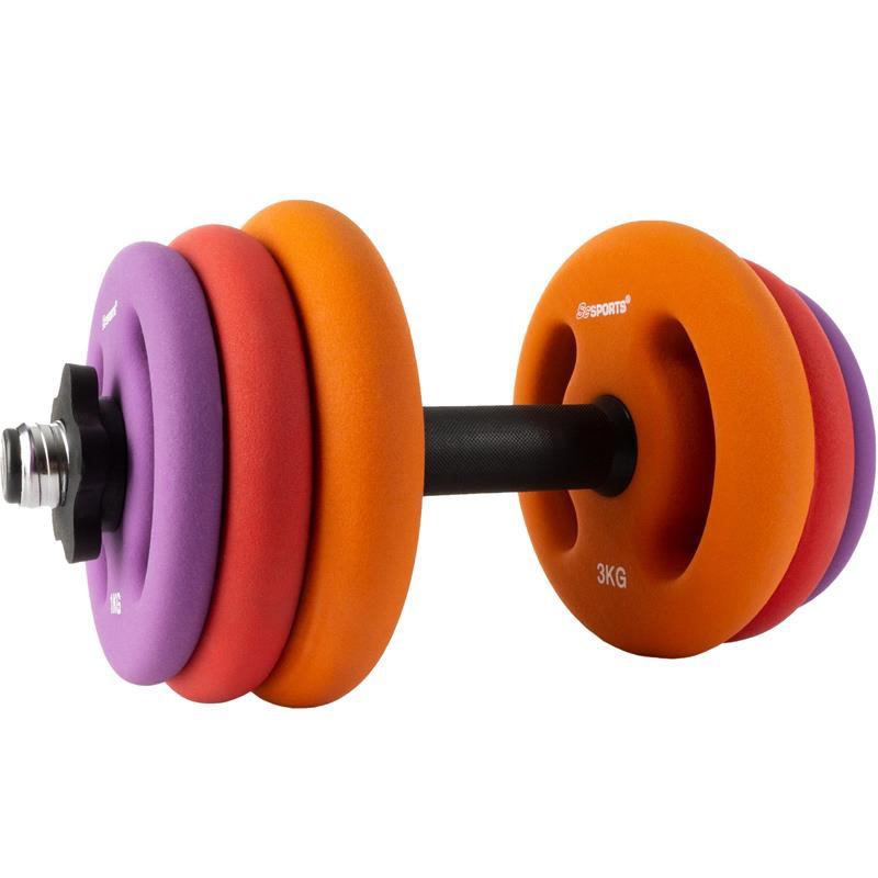 25 kg Hantelset mit Kurzhanteln und Neopren Hantelscheiben