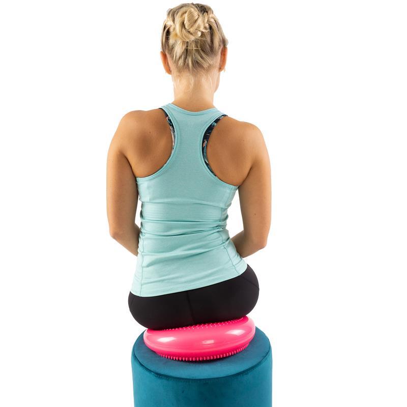 Pilates Luftpad mit Pumpe