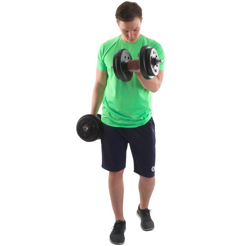 1,25 kg - 10 kg Hantelscheiben Kunststoff Ø 30 mm