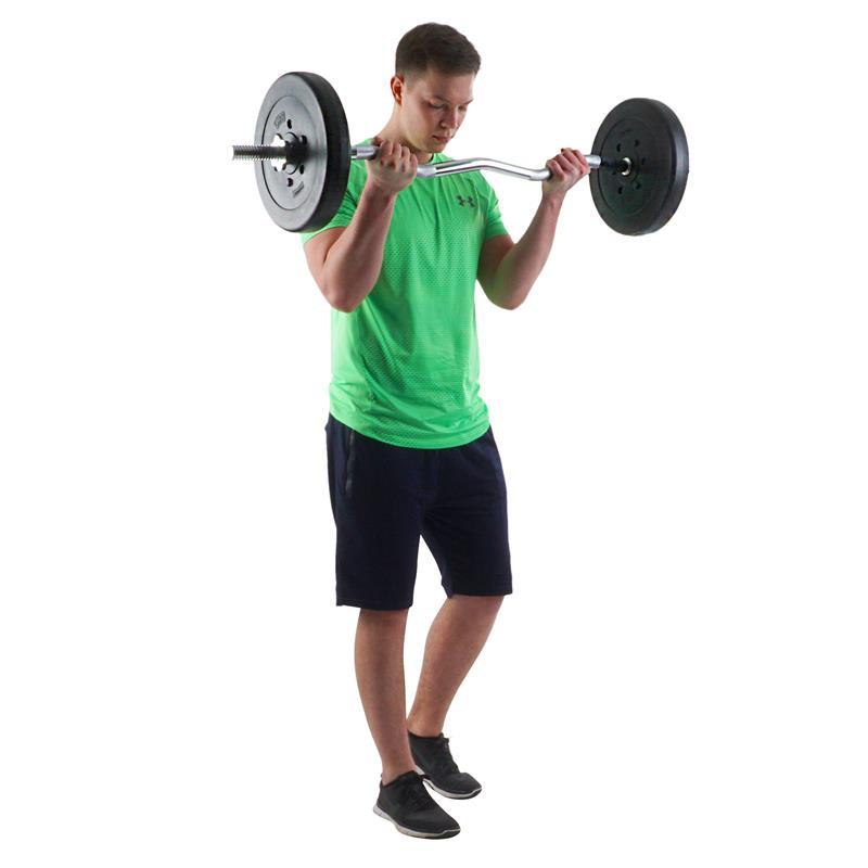 5 kg Hantelscheibenset Kunststoff 2x2,5 kg Ø 30 mm