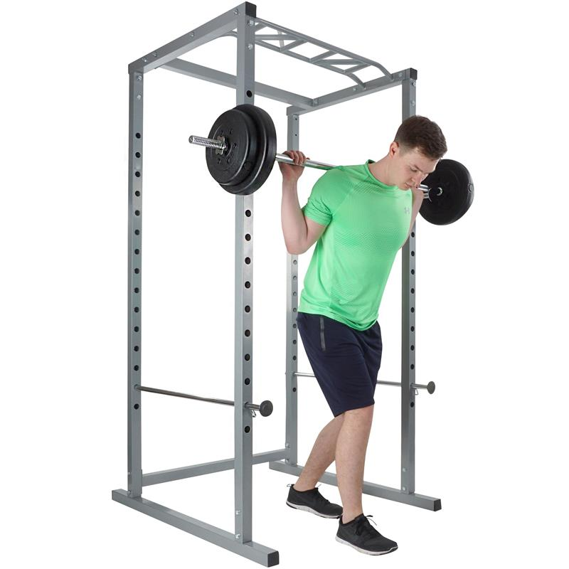 Power Rack Cage mit Klimmzugstange