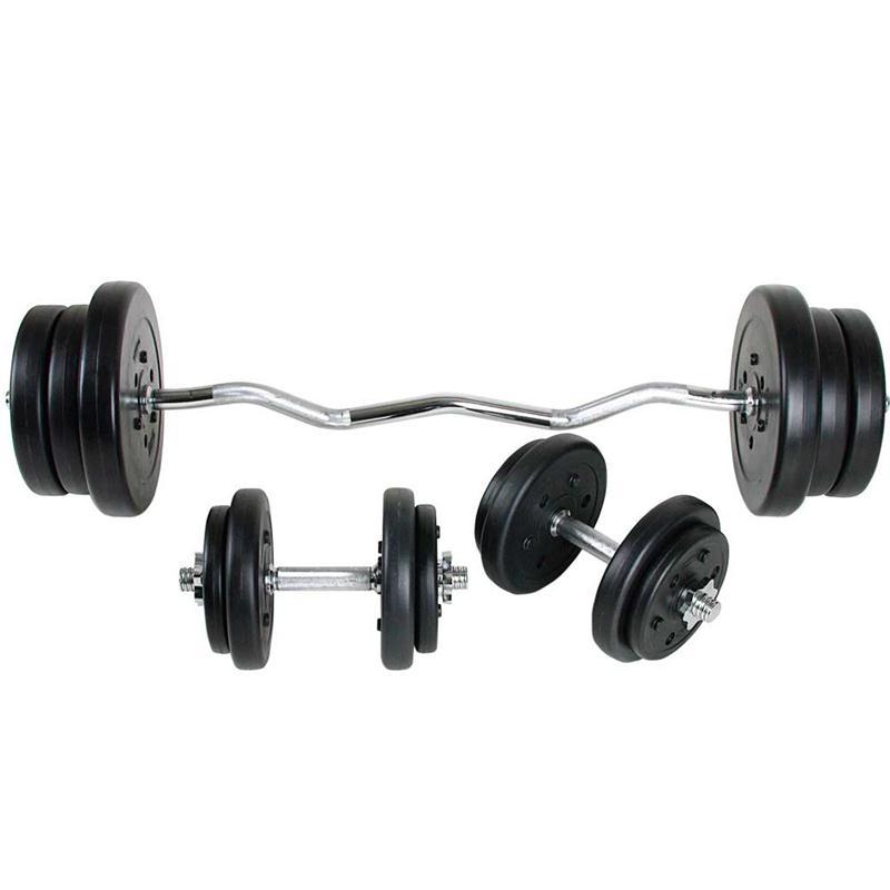 55 kg Komplettset Kunststoff 30 mm 2x10 4x5 4x2,5 4x1,25 kg