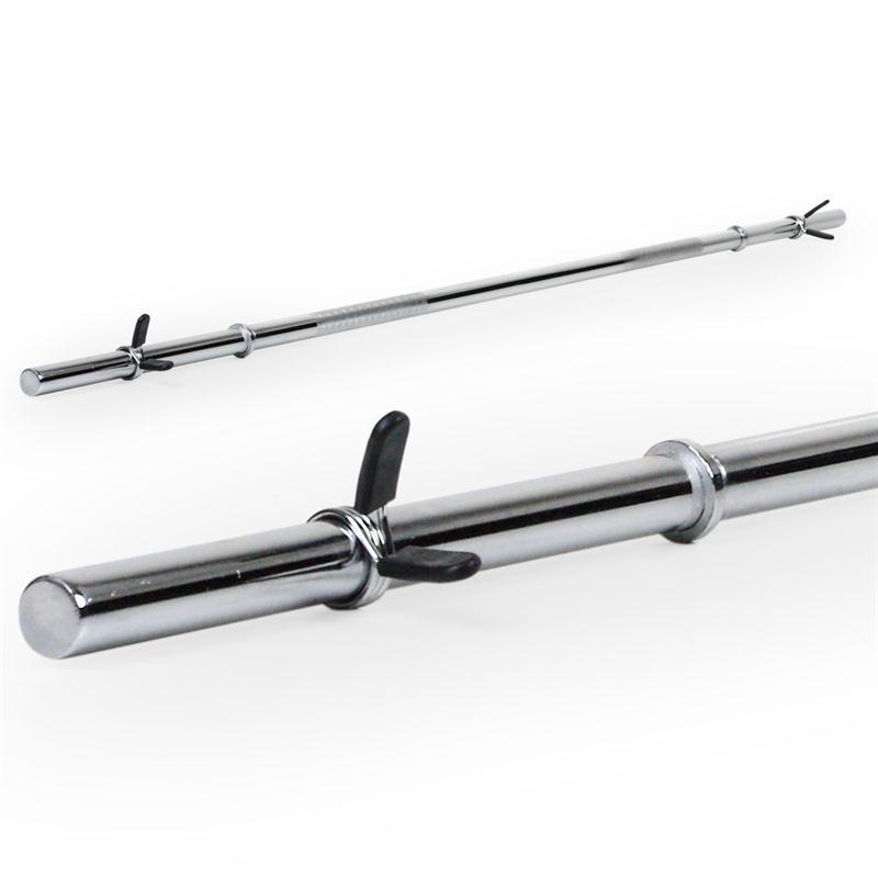 Langhantelstange 30 mm ohne Gewinde 180 cm Länge